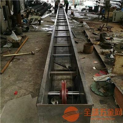 單板鏈刮板機來圖生產淄博環保刮板輸送機的價格