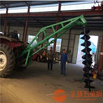 赣州地钻挖坑植树机价格大马力立柱打坑机