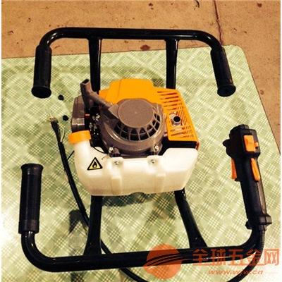湛江电线杆挖坑机视频打洞机硬土黏土栽树机