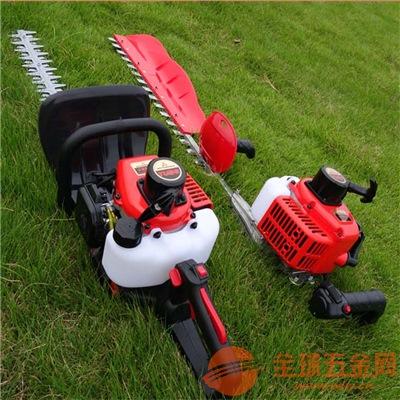 园林汽油修剪机操作视频杭州手提式绿篱机