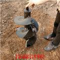 南京四轮拖拉机后置式挖坑机小型植树造林打眼机