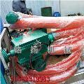 软管式沙子装车抽粮机 装袋用软管吸粮机 车载软管提升机参数