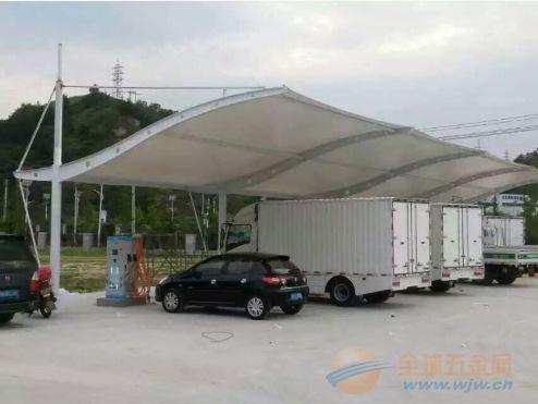 霍邱汽车棚,膜结构车棚。