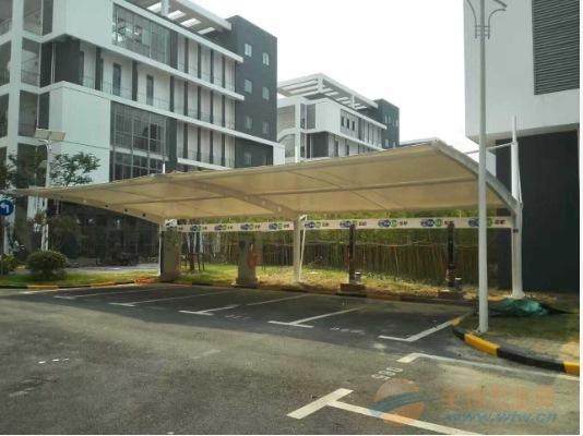 宁波推拉棚,膜伞,自行车车棚,充电桩车棚,停车棚,汽