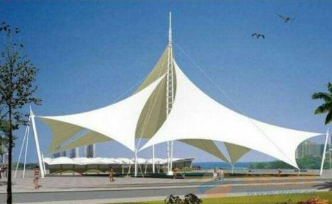嘉兴膜结构停车棚,推拉篷,景观棚,膜结构汽车棚
