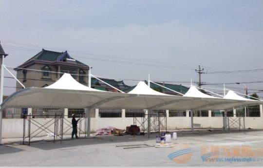 阳春膜结构车棚,膜结构停车棚厂家