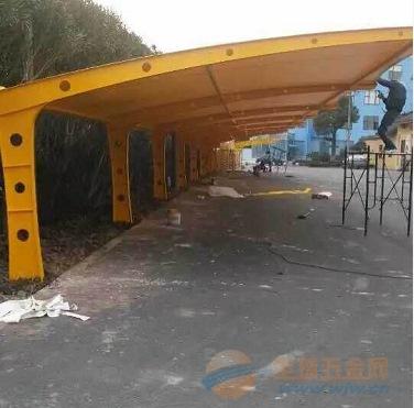 揭阳膜结构车棚,膜结构停车棚厂家