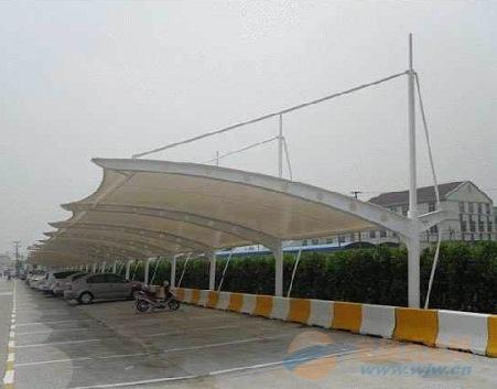 阳江膜结构车棚,膜结构停车棚厂家