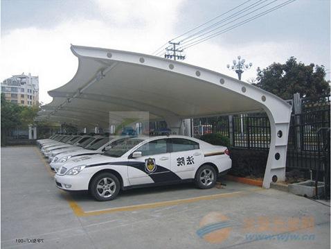 汕尾膜结构车棚,膜结构停车棚厂家