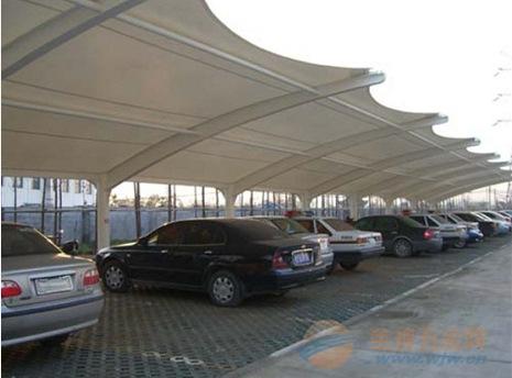台山膜结构车棚,膜结构停车棚厂家