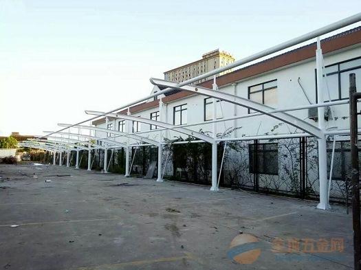 潮州膜结构车棚,膜结构停车棚厂家