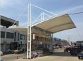 顺德膜结构车棚,膜结构停车棚厂家
