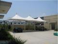 顺德膜结构汽车雨棚,停车棚价格,膜结构电动车棚