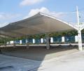 蚌埠膜结构汽车棚,膜结构雨棚厂家