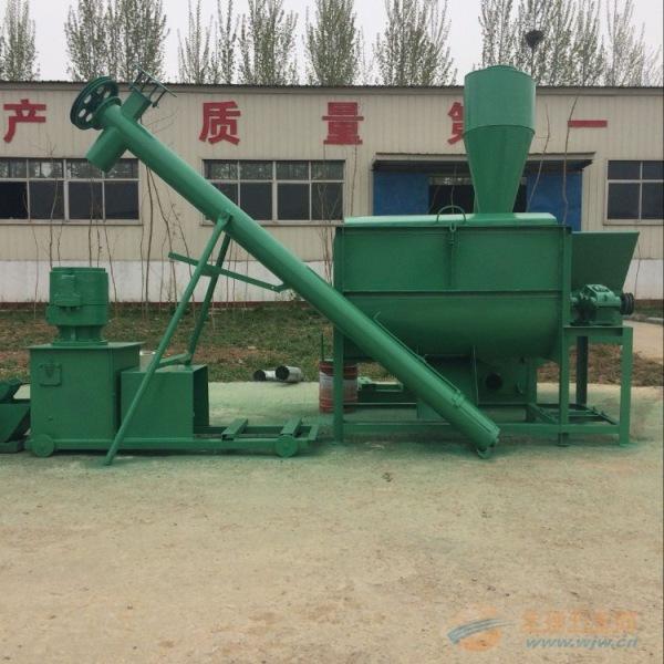 新丰县厂家供应制作饲料颗粒机组
