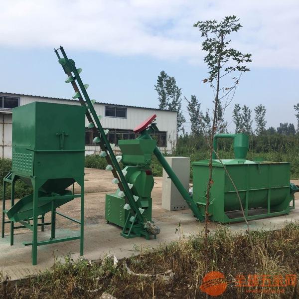 西林县厂家供应制作饲料颗粒机组