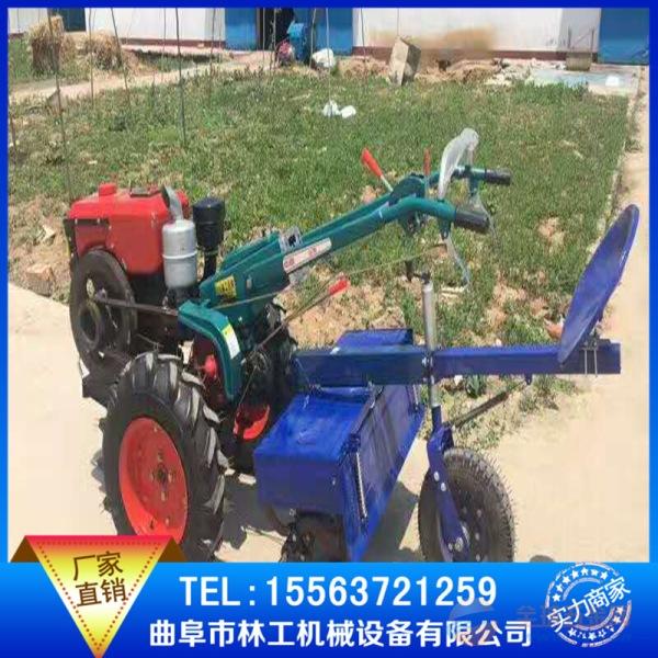 樊城区拖拉机带花生摘果机