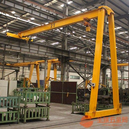 河南鹤壁起重机行车电葫芦设备配件防爆软管起重机 结构合理