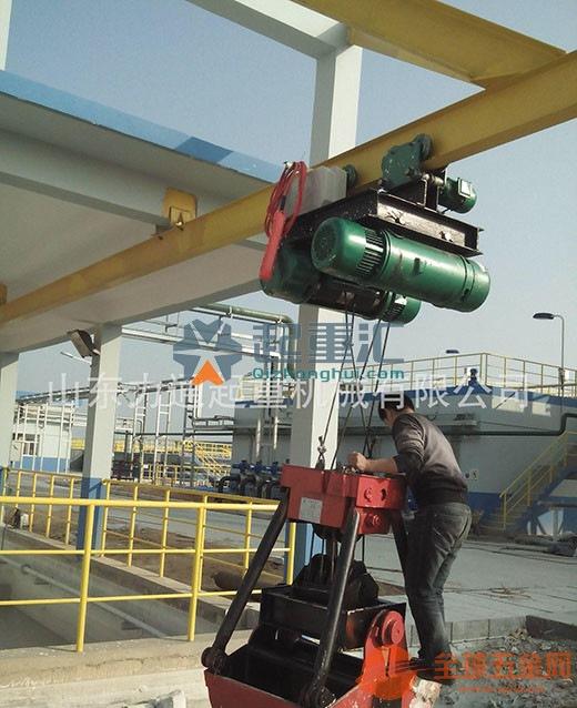 青海西宁起重机行车电葫芦设备配件吊钩桥式起重机期待合作