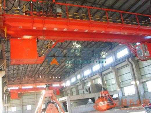 河南焦作抓斗起重机单轮吊钩滑车水电站用桥式起 起重机图片优质供应商