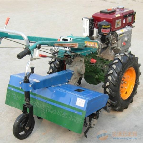 小地块谷子收割机 宽割幅麦子收割机
