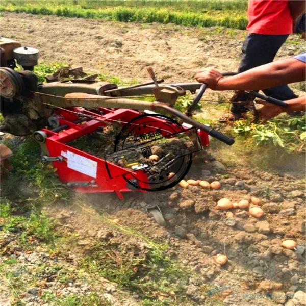 红薯土豆地瓜 胡萝卜收获机 四轮拖拉机带动马铃薯收割