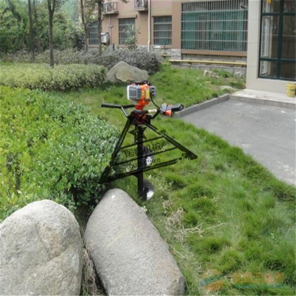 大马力植树挖坑机 拖拉机带动的优质挖坑机