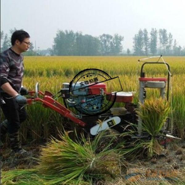 玉米秸秆割晒机 多功能秸秆收割机