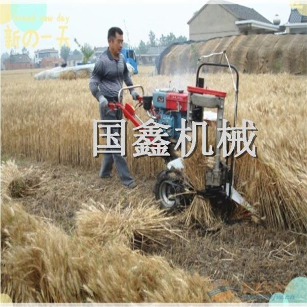 苞米秸秆割晒机 小型麦稻收割机