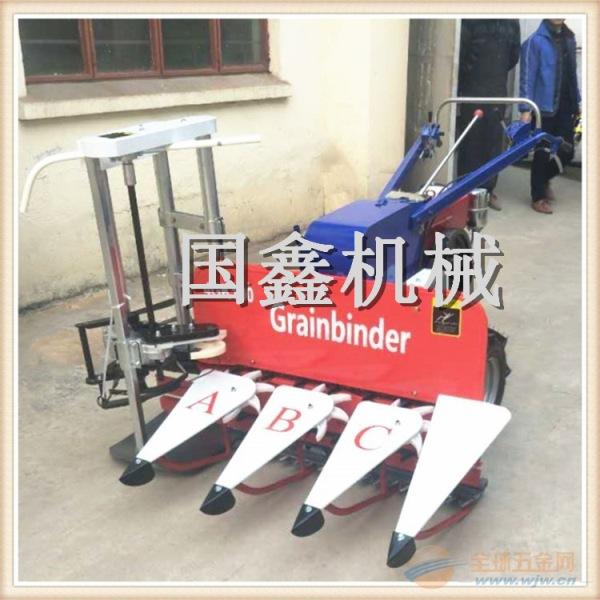 汽油割晒机生产厂家自走式水稻辣椒收割机价格吴川