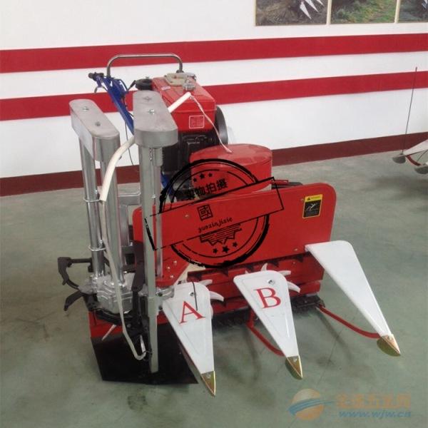 柳条多功能专用收割机牧草水稻小麦收割机 新泰