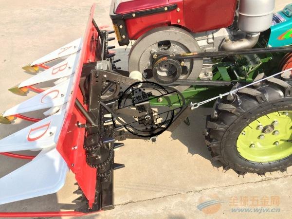 汽油机玉米秸秆大豆收割机 拖拉机带玉米收割机雁山区