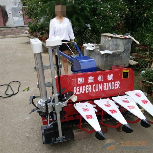 高粱秸秆收割机 小型辣椒收割机