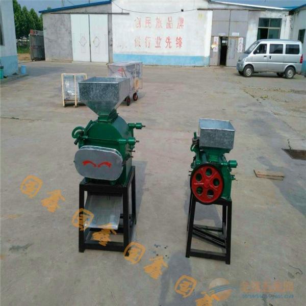 禅城区家用电花生破碎机 小型豆制品加工机械挤扁机厂家