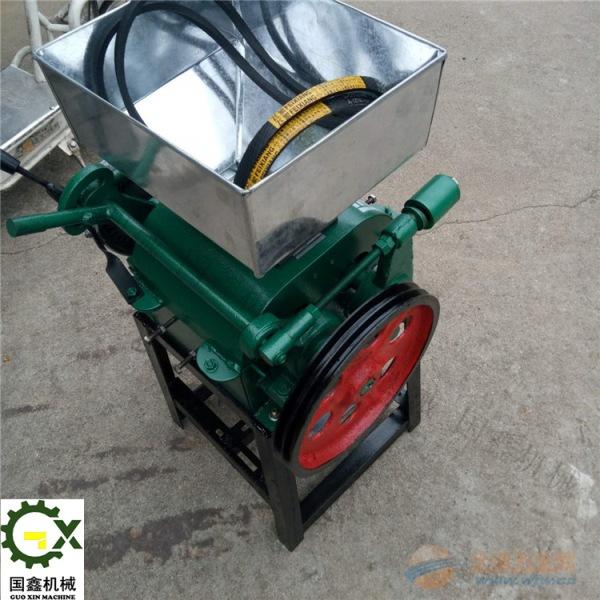 裕民县高粱玉米粉碎机 小型豆子专用挤扁机