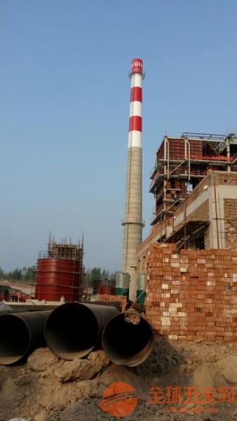 张掖80米水泥烟囱新建公司√专业新建公司√2018