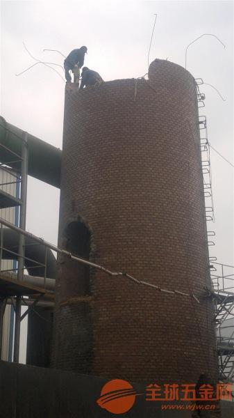 保德县30米、50米、60米砖烟囱机械拆除公司√ √ 欢迎来电咨询√ √