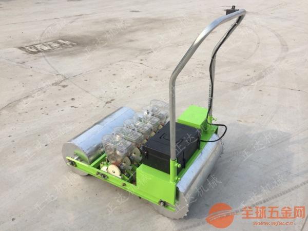 谷子蔬菜精播机 电动精准小颗粒种子精播机