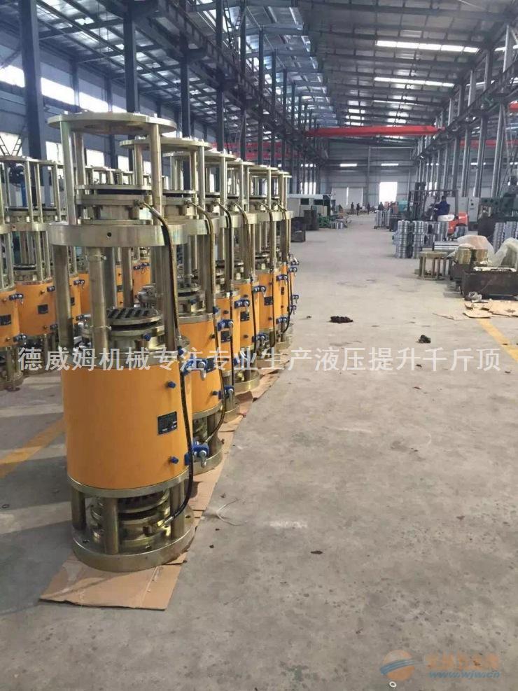 专注专业生产销售柳州雷姆德威姆钢绞线液压连续提升千斤顶