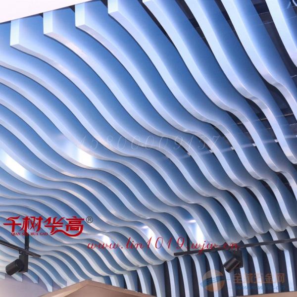 幕墙弧形铝方通