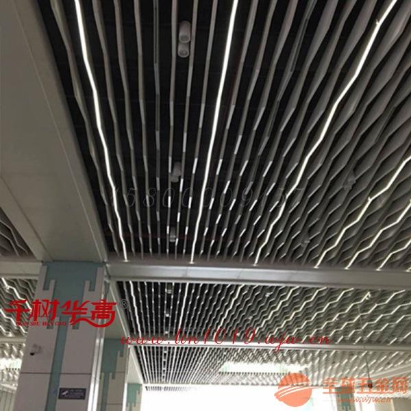 弧形波浪板-弧形铝方通定制厂家