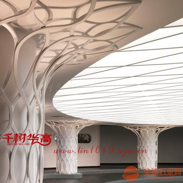 凹槽弧形铝方通吊顶优势