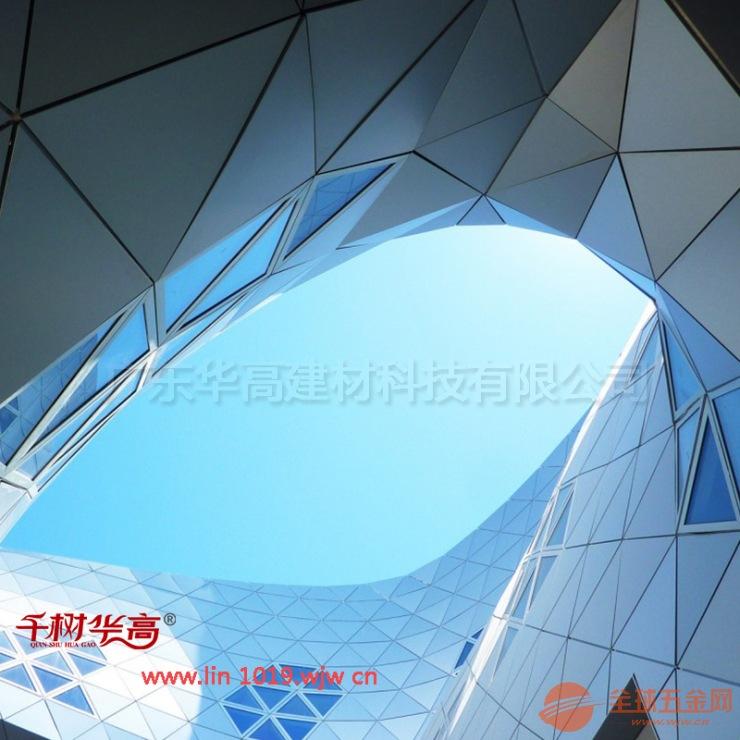 户外银色氟碳漆铝单板天花幕墙装饰