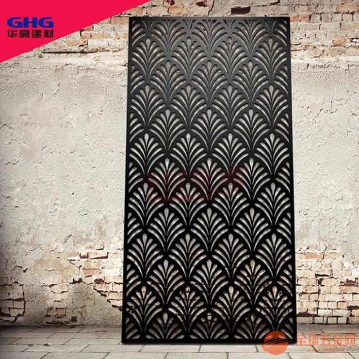 厚板雕刻 仿古铝窗花 镂空铝单板厂家