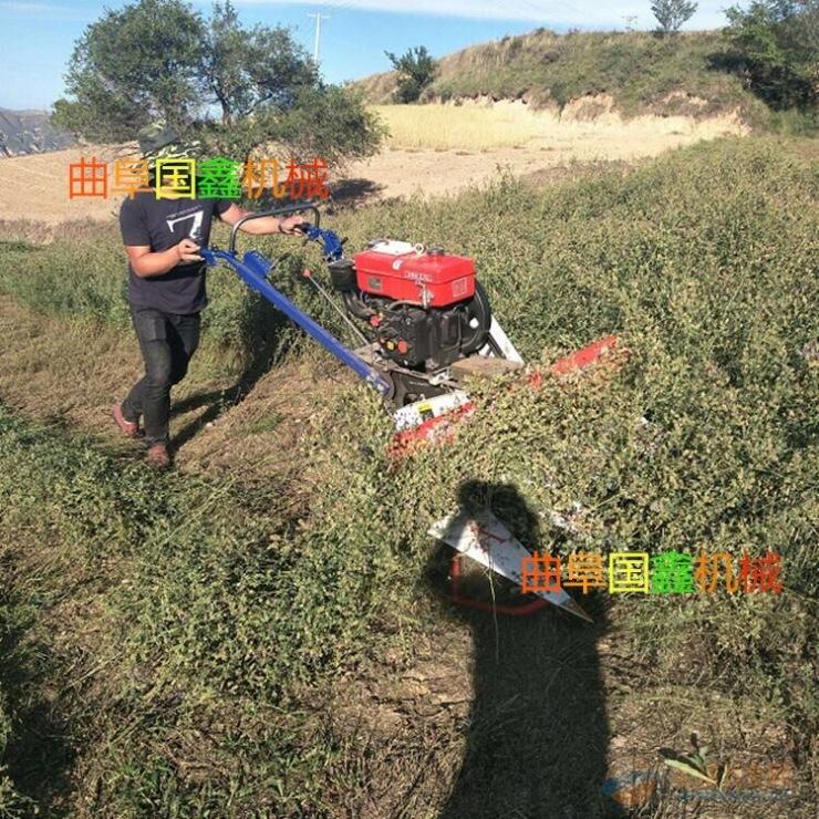 连城县茴香玉米秸秆割倒机 牧草割捆机