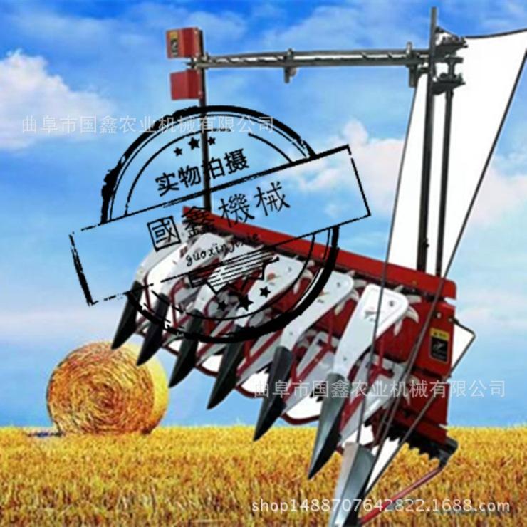 漳平水稻小麦牧草收割机 手扶式小麦水稻秸秆收割机