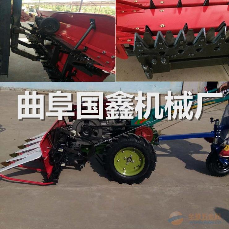 龙海小块地水稻小麦收割打捆机 收割捆扎一体机