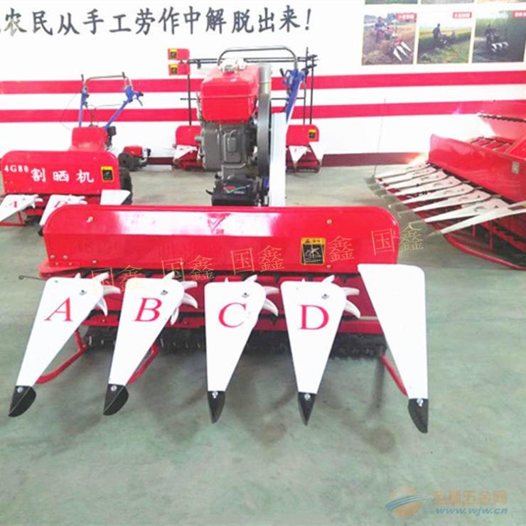 三元区小麦收割打捆机 西藏稻麦秸秆割捆机