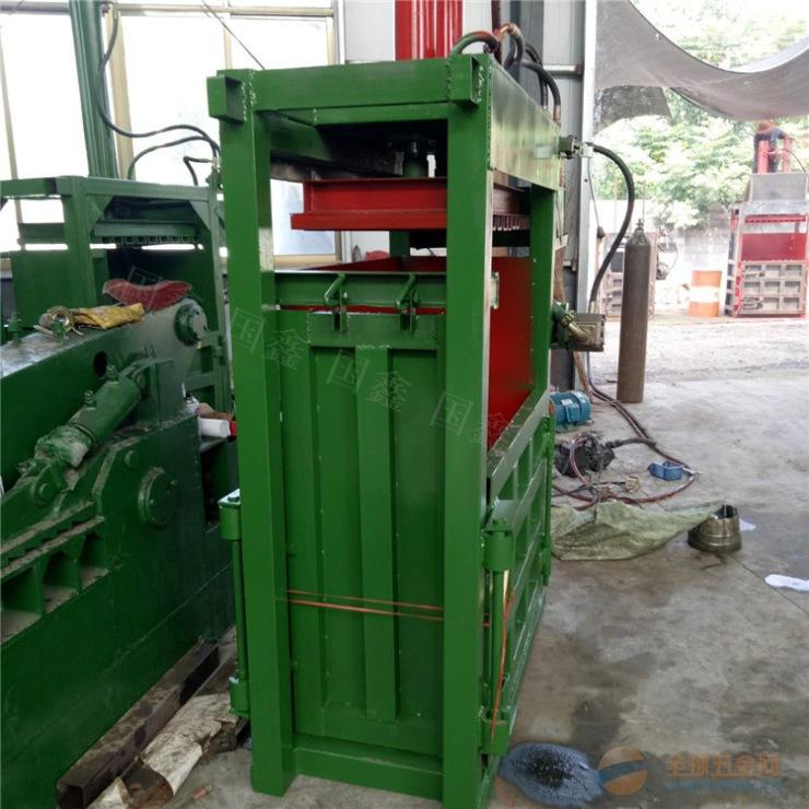 丽水高效金属屑成型压块机 再生棉立式液压打包机