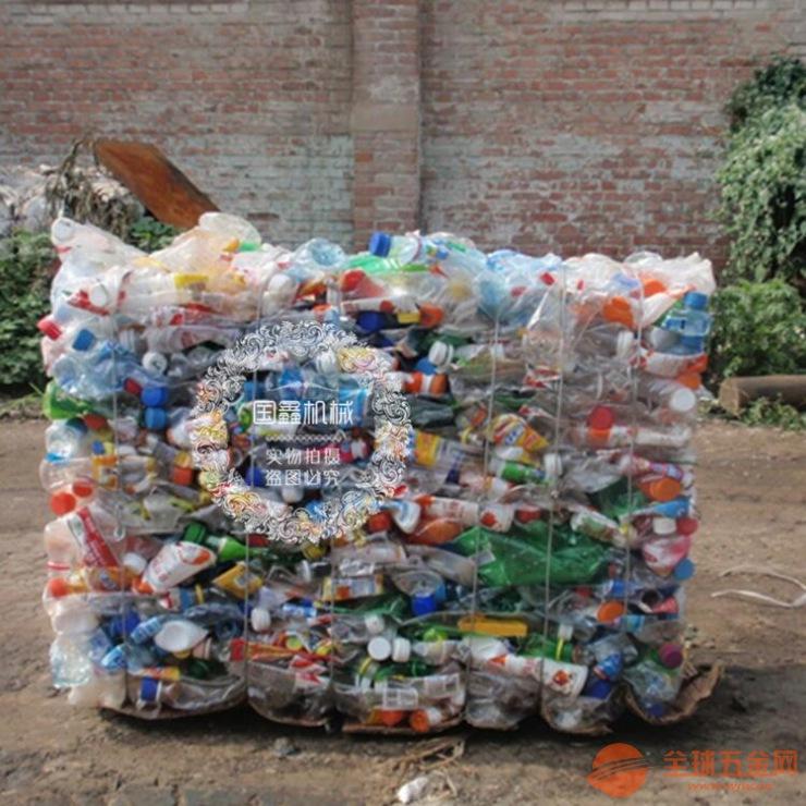 服装布匹液压打包机 编织袋液压打包机图片 废纸箱打包机图片